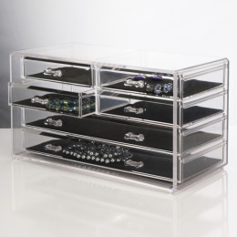 Deluxe 6-Drawer Jewelry Chest
