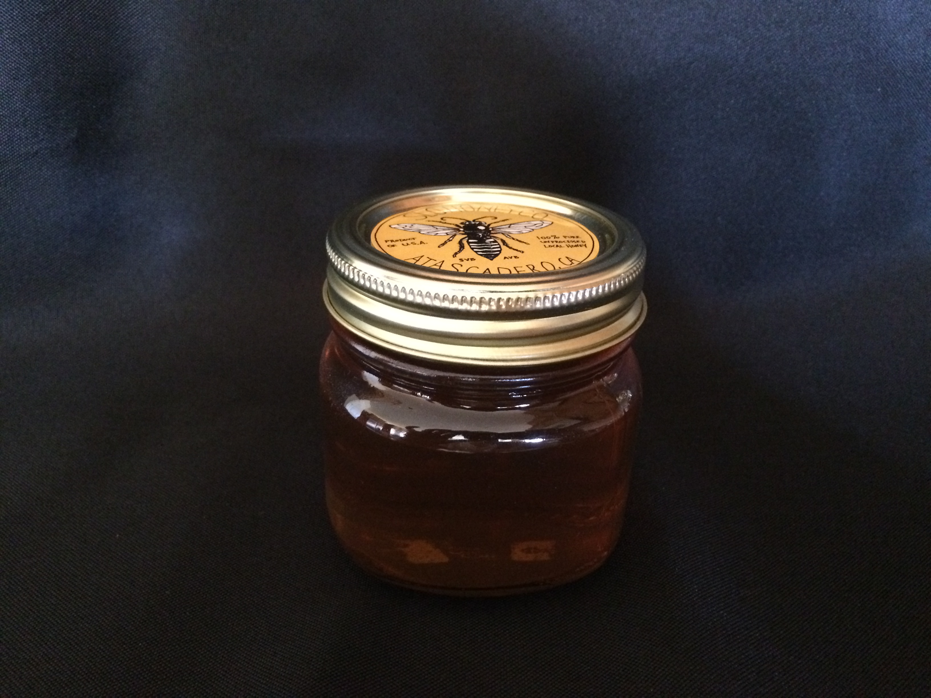 Boutique Raw Late Spring Wildflower Honey