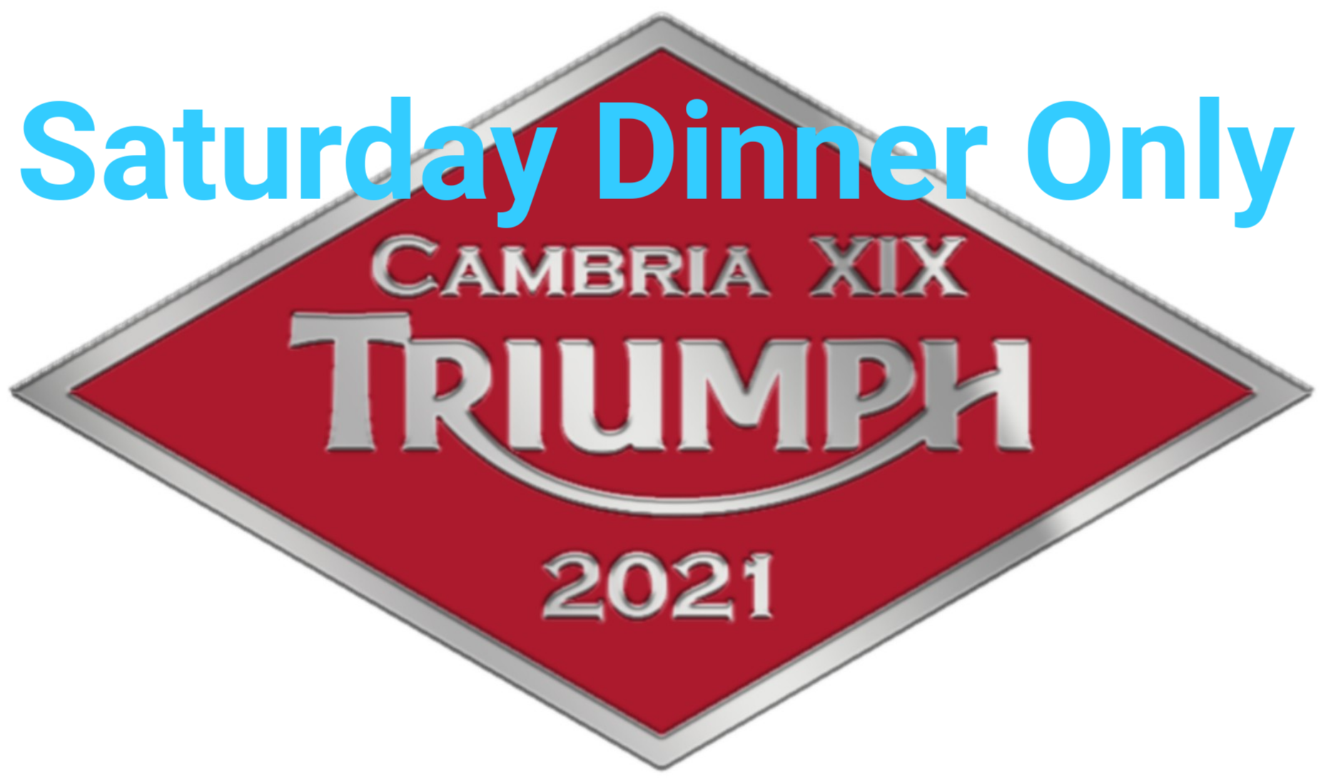 2021 Rally Registration - SATURDAY DINNER ONLY