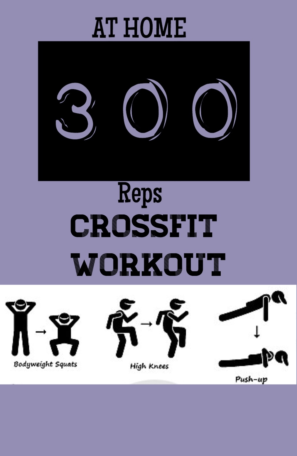 300 reps Crossfit Workout