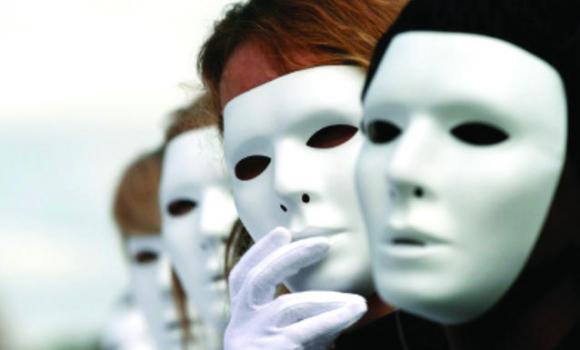 Anti-Trafficking   The man behind the mask