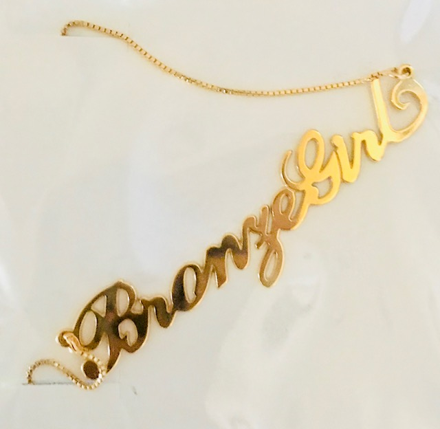 brand necklace