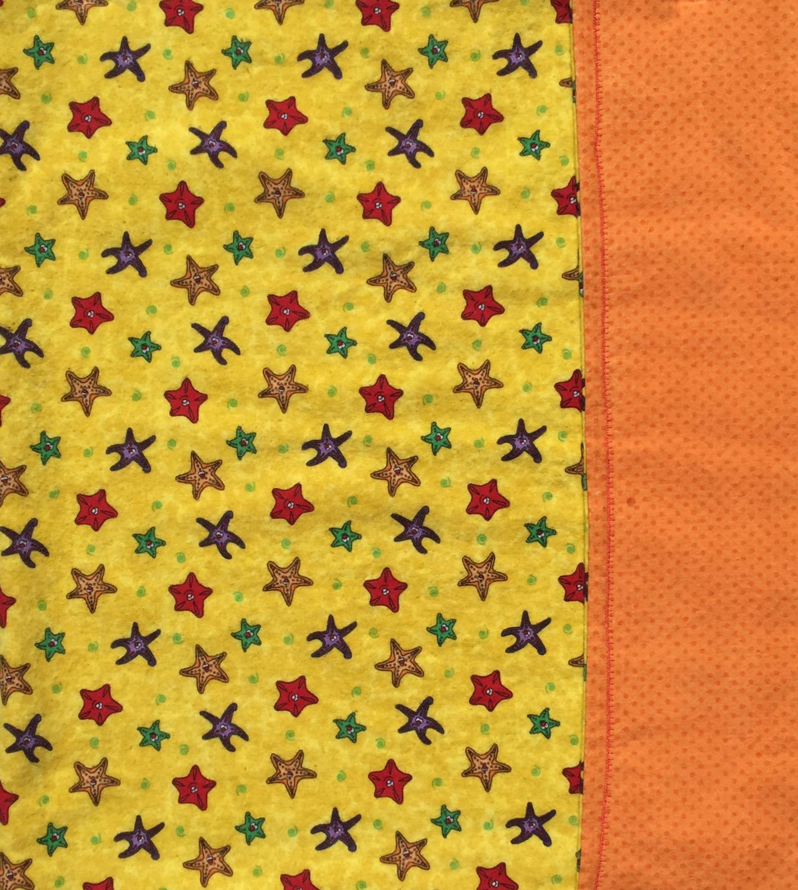 Starfish Baby Blanket