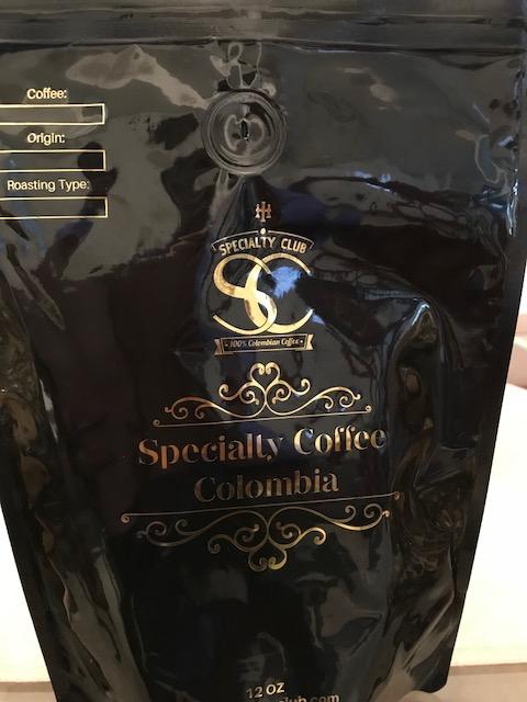 (1) 12 oz Specialty Coffee