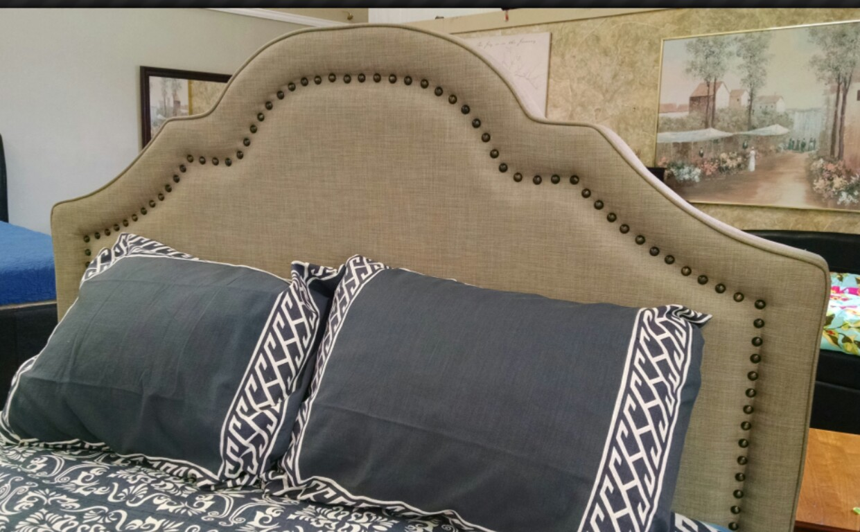 Isabella Wheat Upholstered Headboard