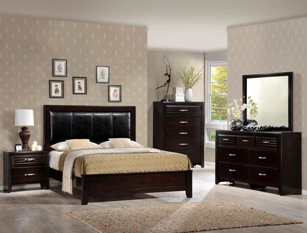 Jocelyn Deep-Cherry Bedroom