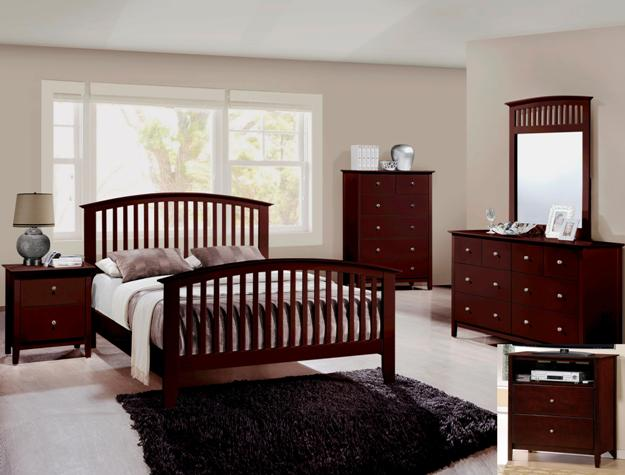 Lawson Mission Style Bedroom