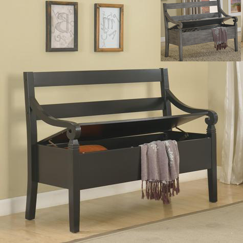 Kennedy Accent Bench w/ Lift-Top Seat