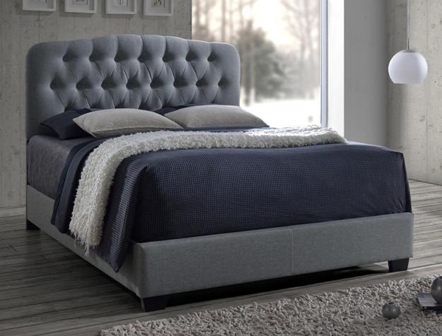 Tilda Gray Linen Bed