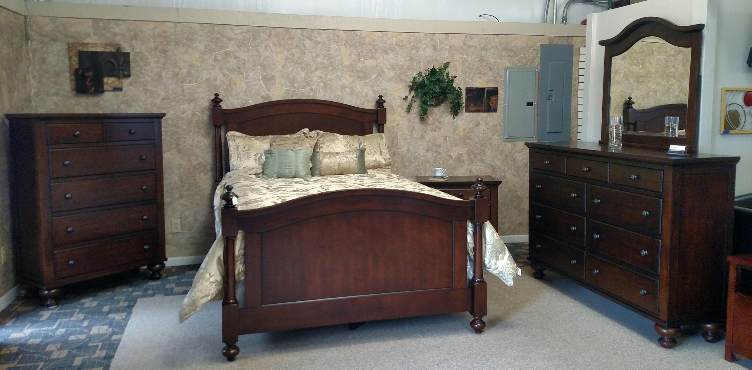 Sommer Bedroom - Dark Oak