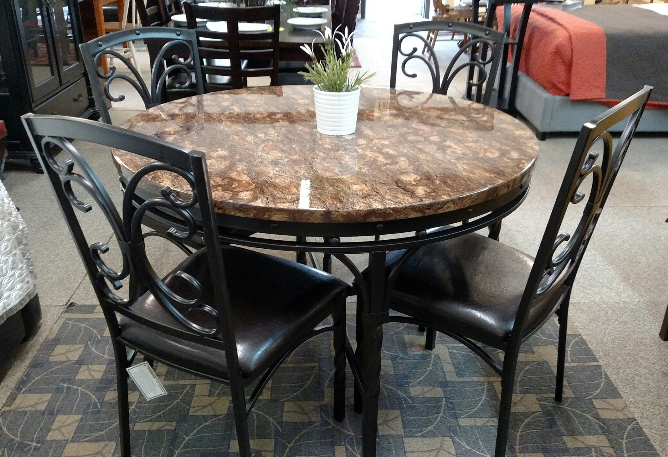 Round Tuscan Table