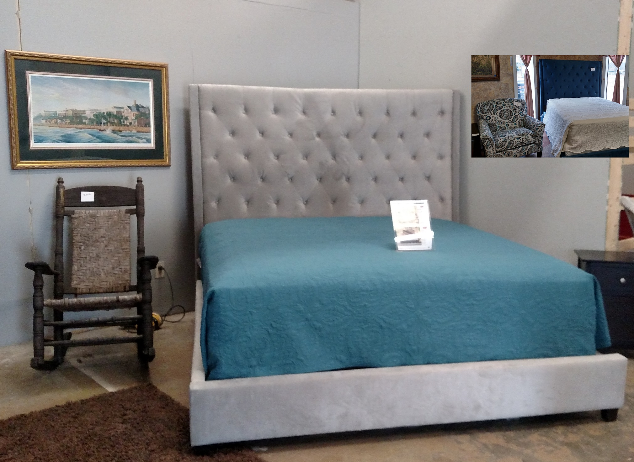 Reese Upholstered Bed