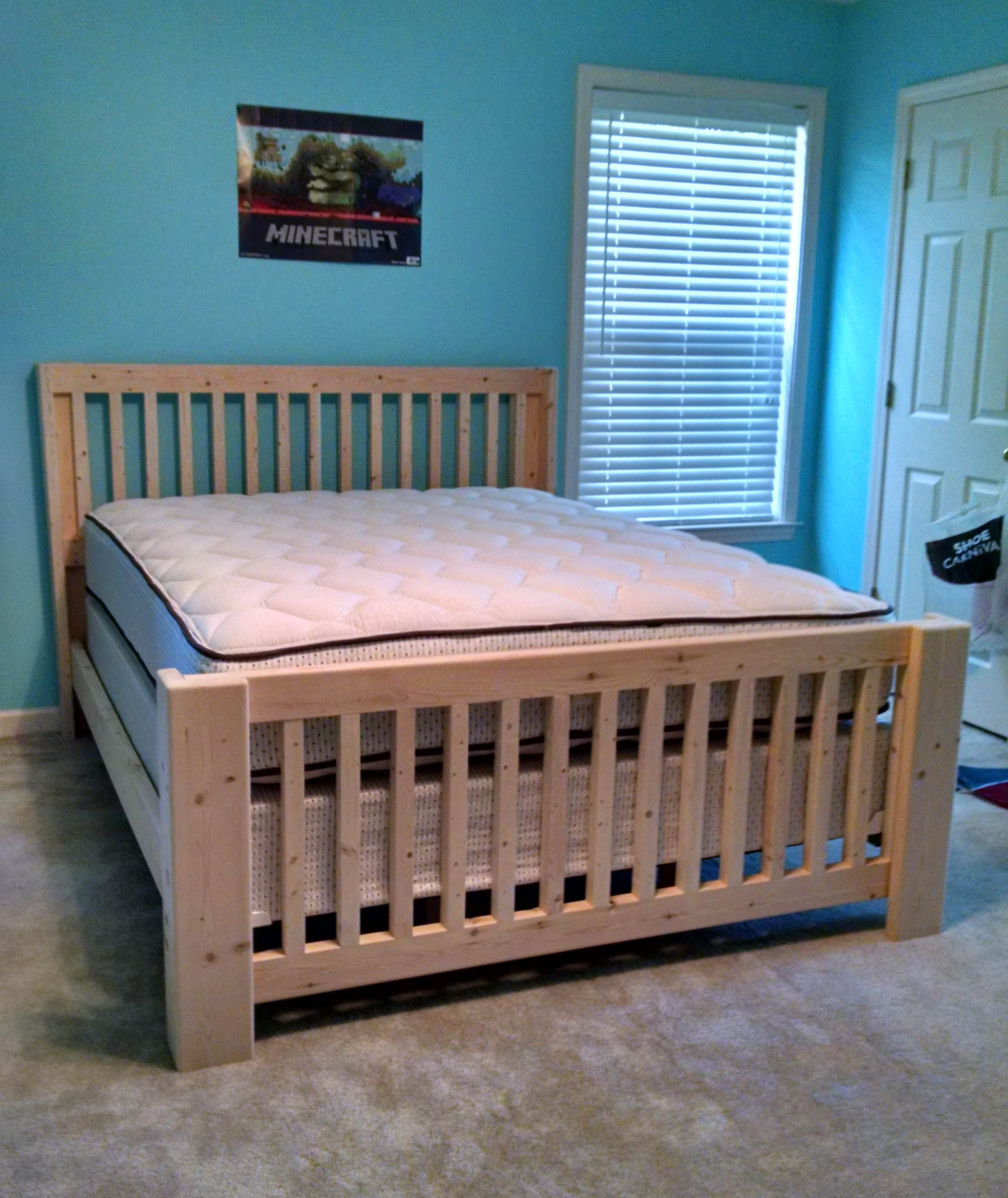 Mission Style Bed Frame Plans Mission Style Bed Frame
