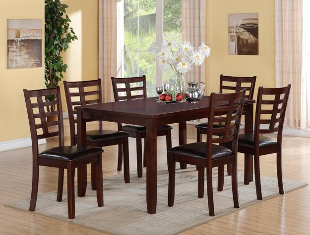 Darren Table w/ 6 Chairs