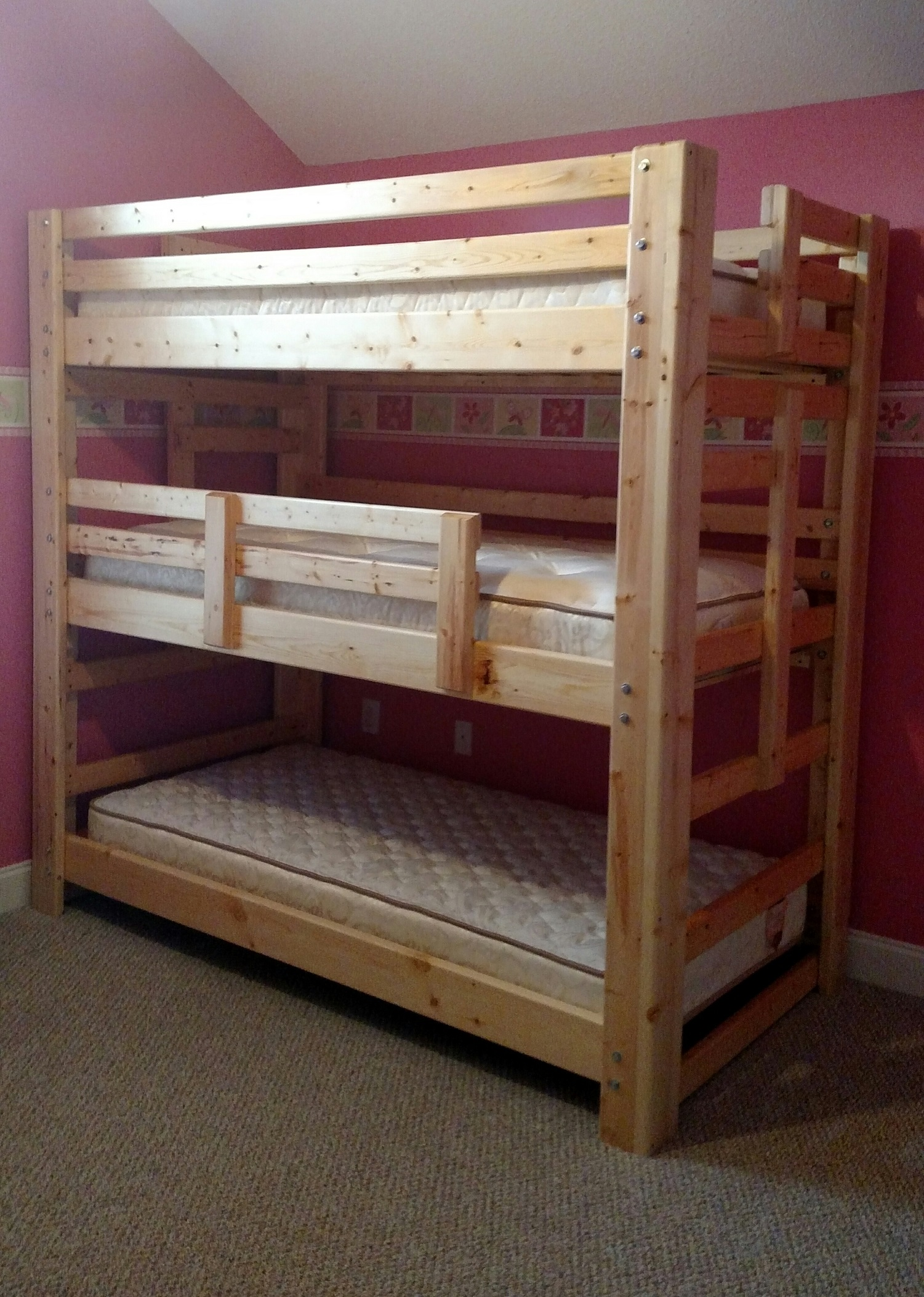 triple bunk tradtional style
