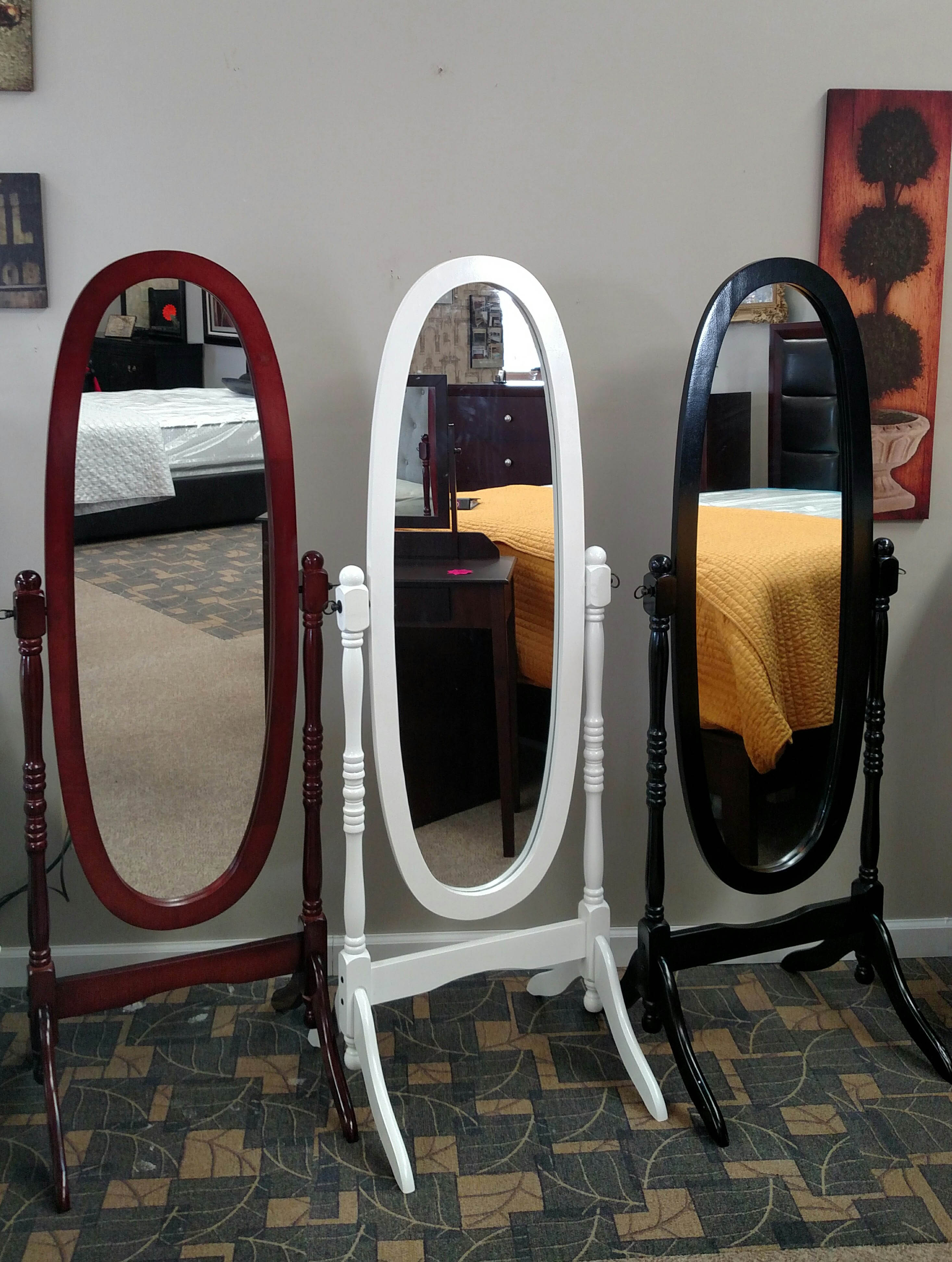 Cheval Mirror on Stand