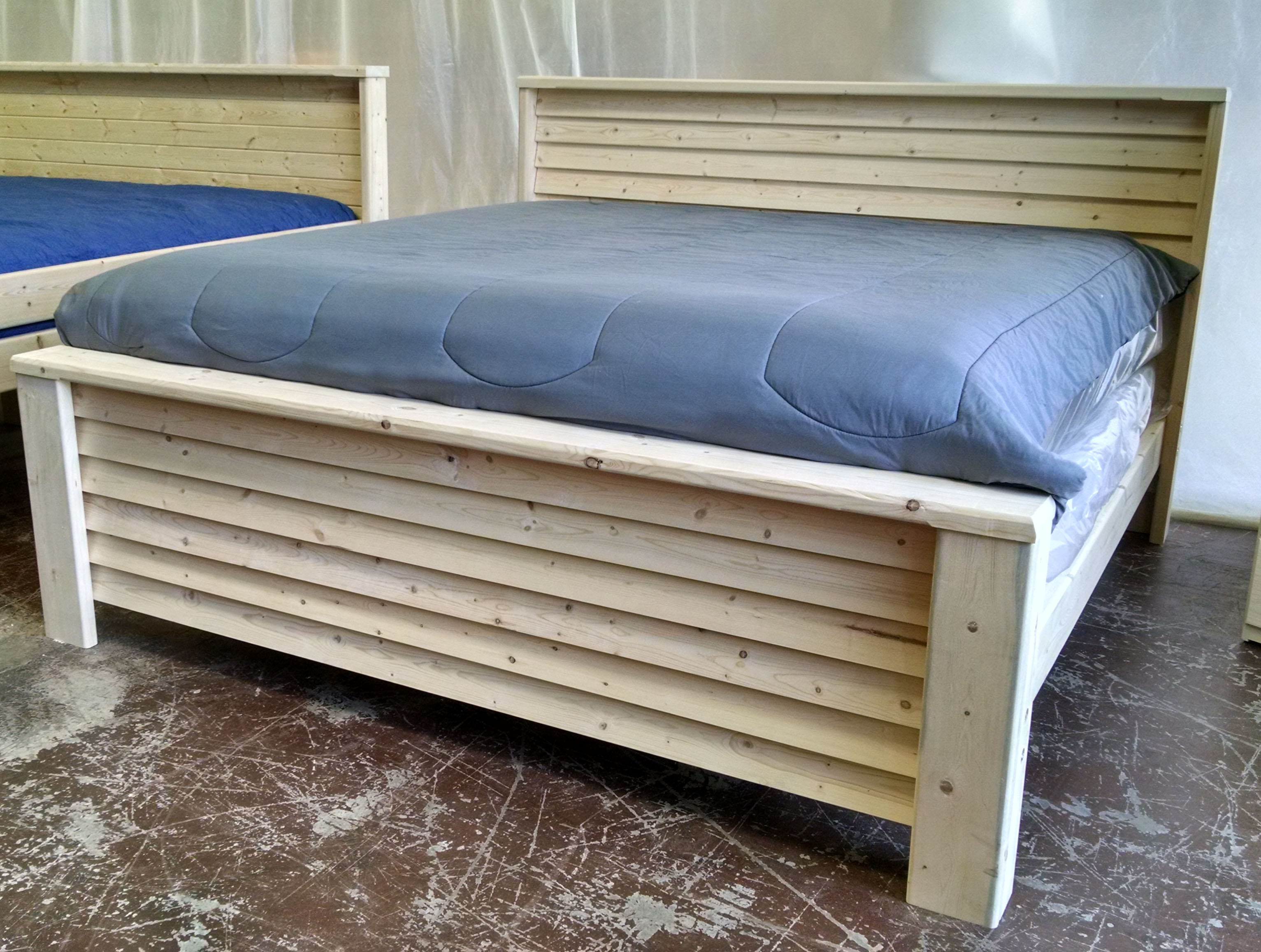 Plantation Style Bed