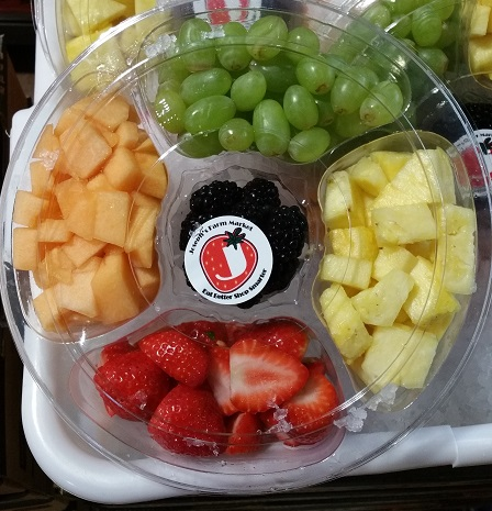 "FRUIT TRAY 10"" ROUND"