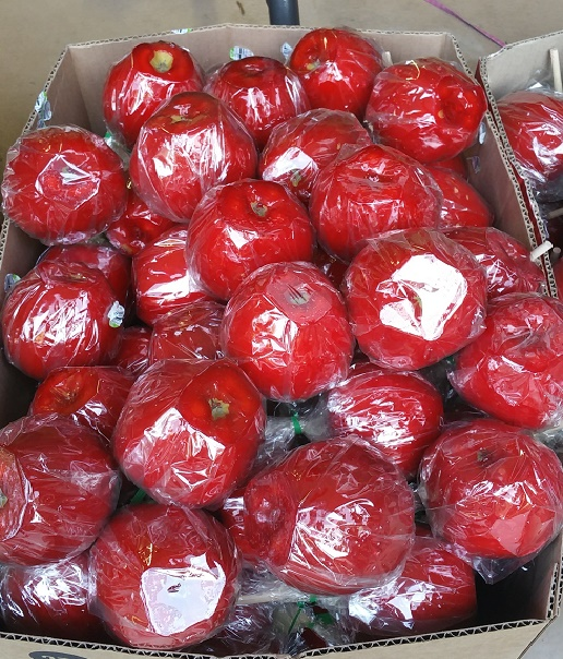 RED CANDY APPLES-DOZEN