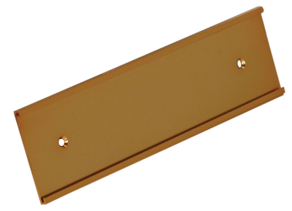 """1"""" x 8"""" Wall Holder Gold"""