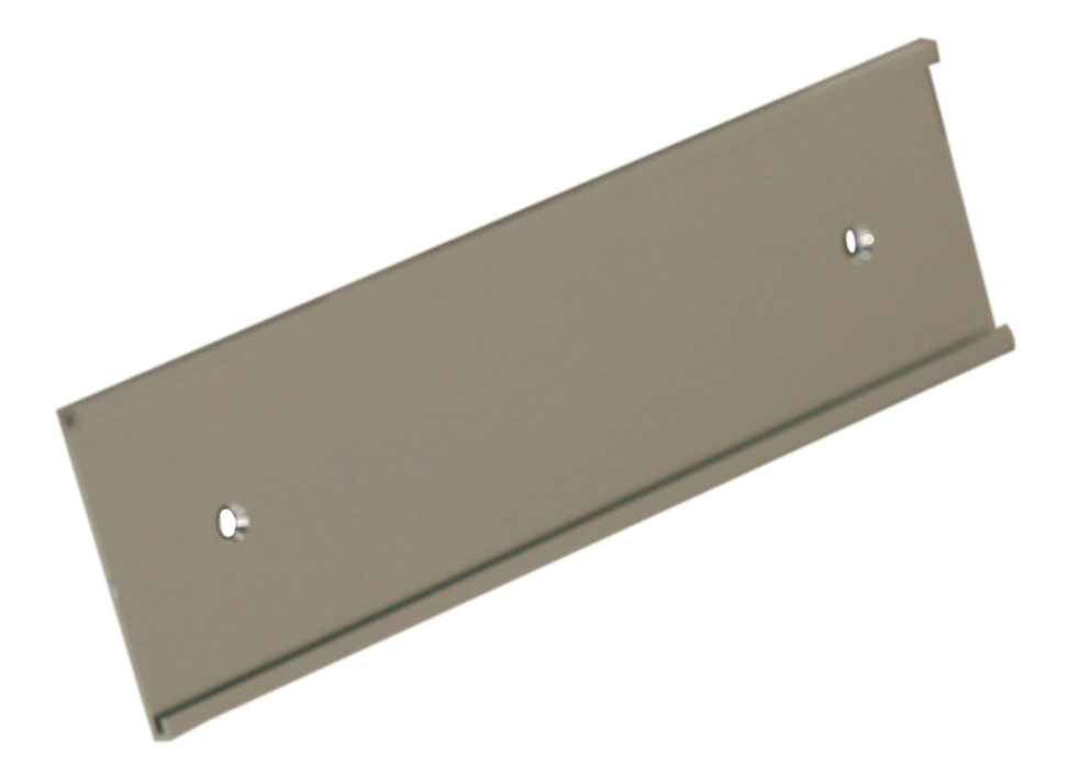 """1"""" x 8"""" Wall Holder Silver"""