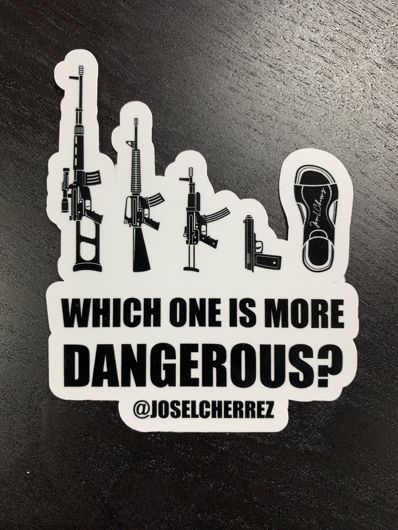 Sticker Which One Is More Dangerous?