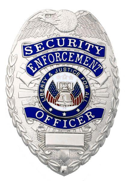 Placa de Seguridad Plateada