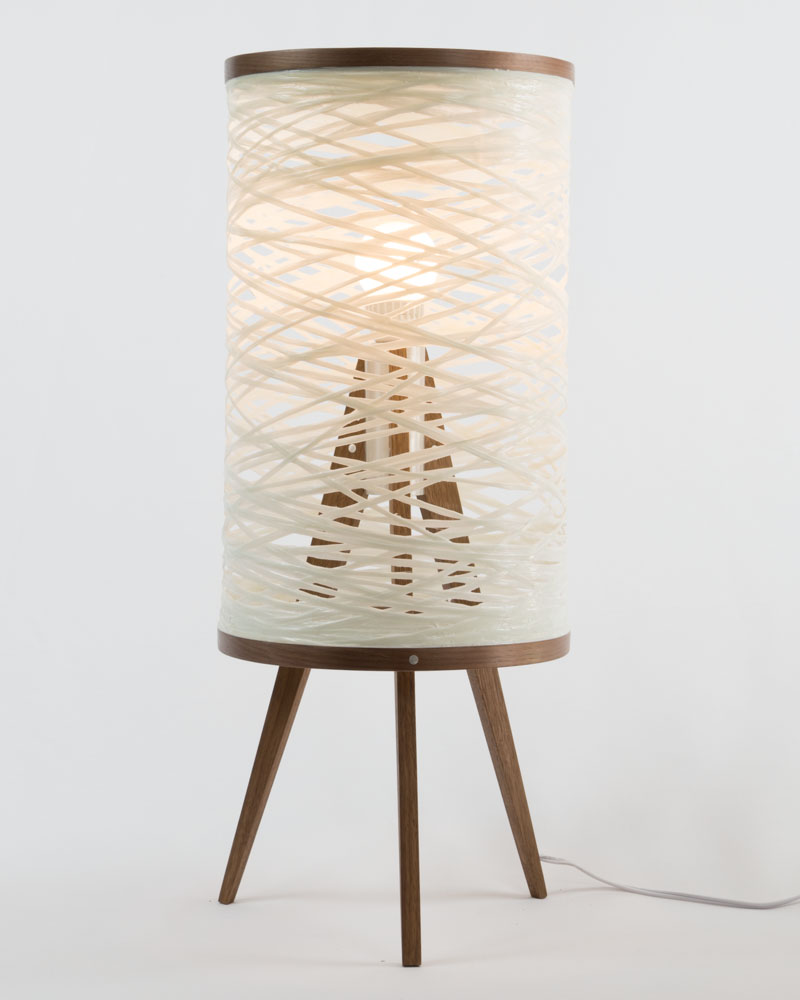 Sinuous Tripod Table Lamp