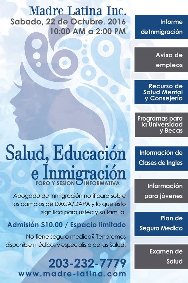 Health, Education, Immigration Forum 2016
