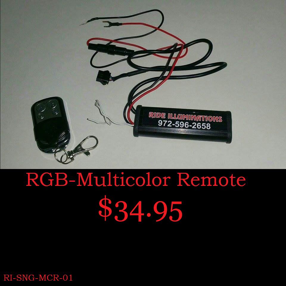 RGB-Multicolor Remote