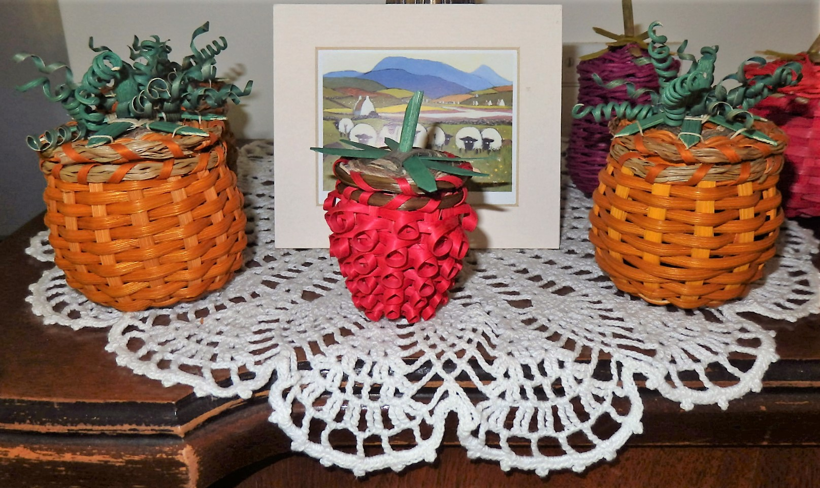 MINI RASPBERRY BASKET