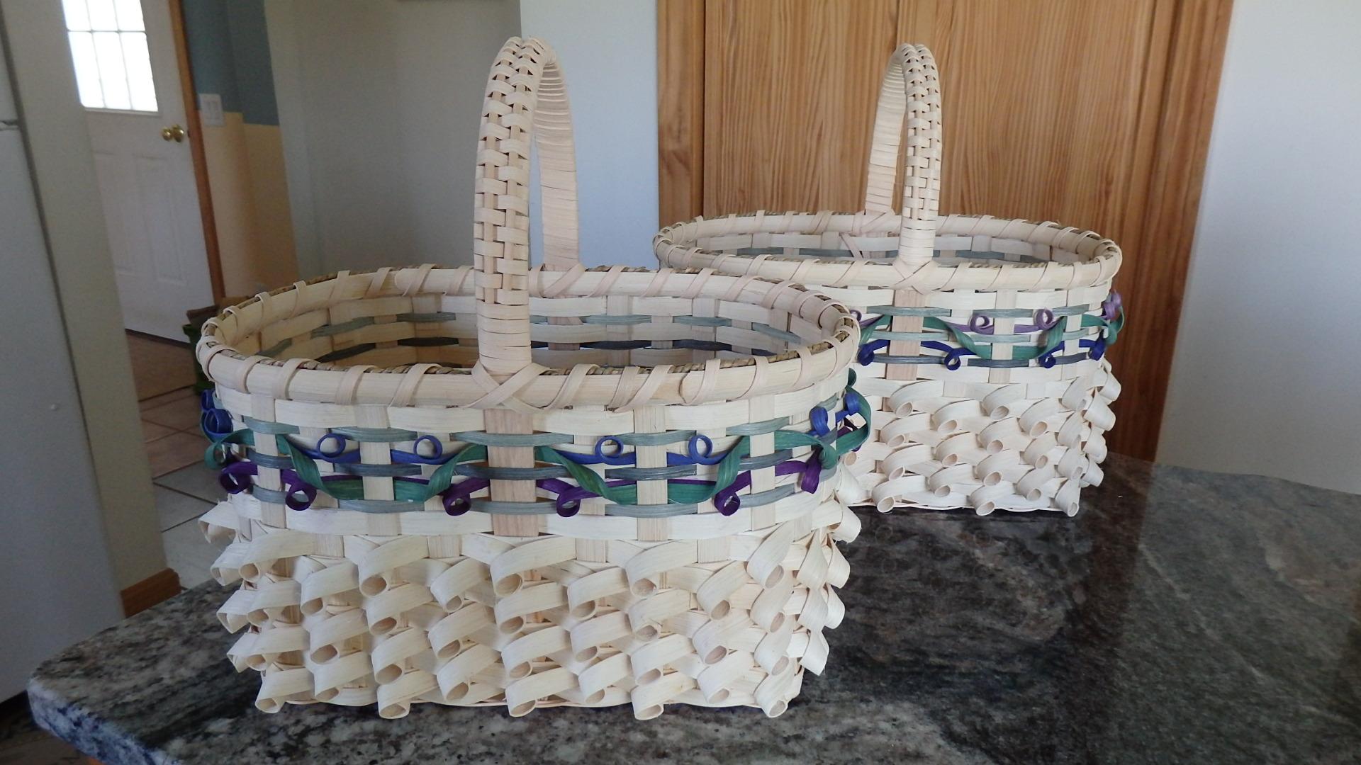 WEDDING BASKET / BLUEBERRY FIELDS DESIGN