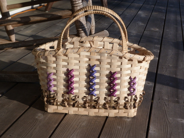MAINE LUPINE BASKET