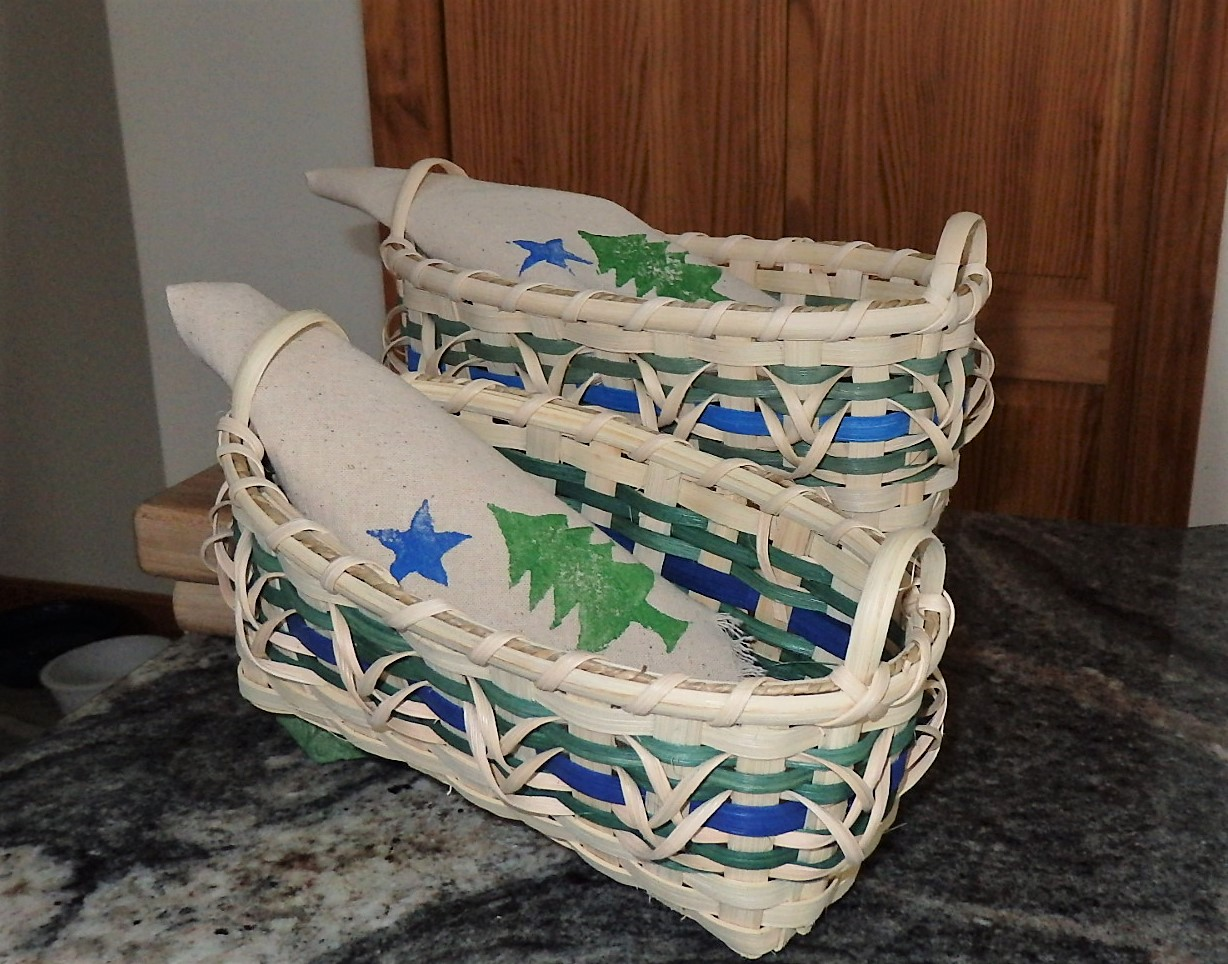 Maine Bicentennial bread basket