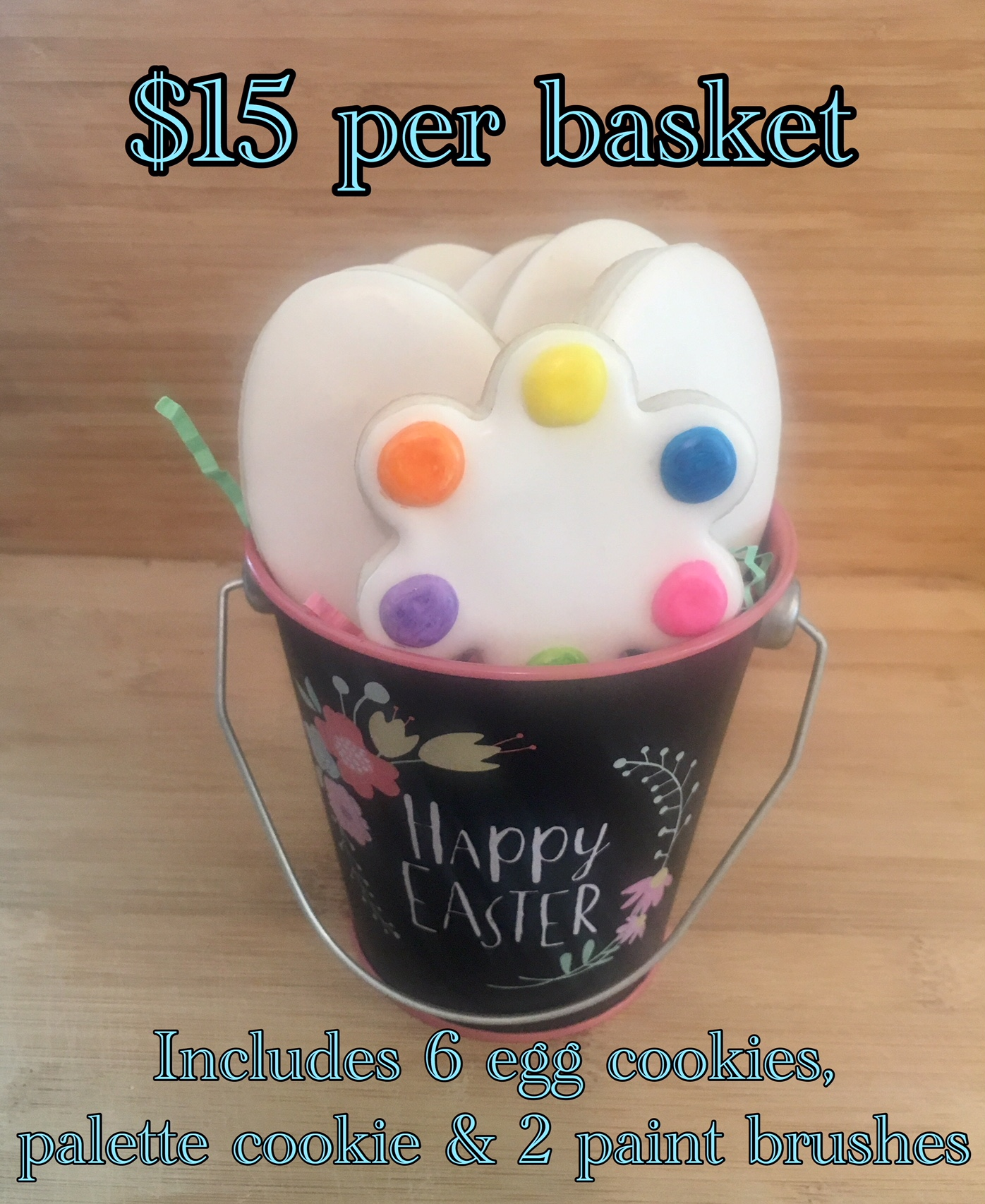 Easter Egg Painting Bucket