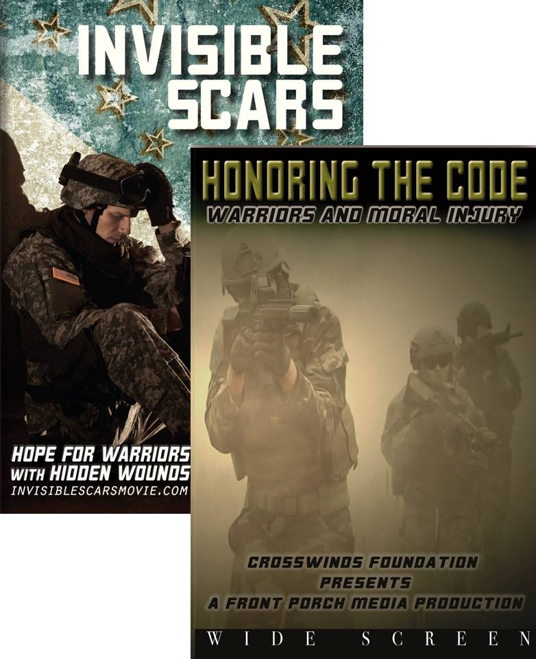 Combo DVD Pack: Invisible Scars and Honoring the Code