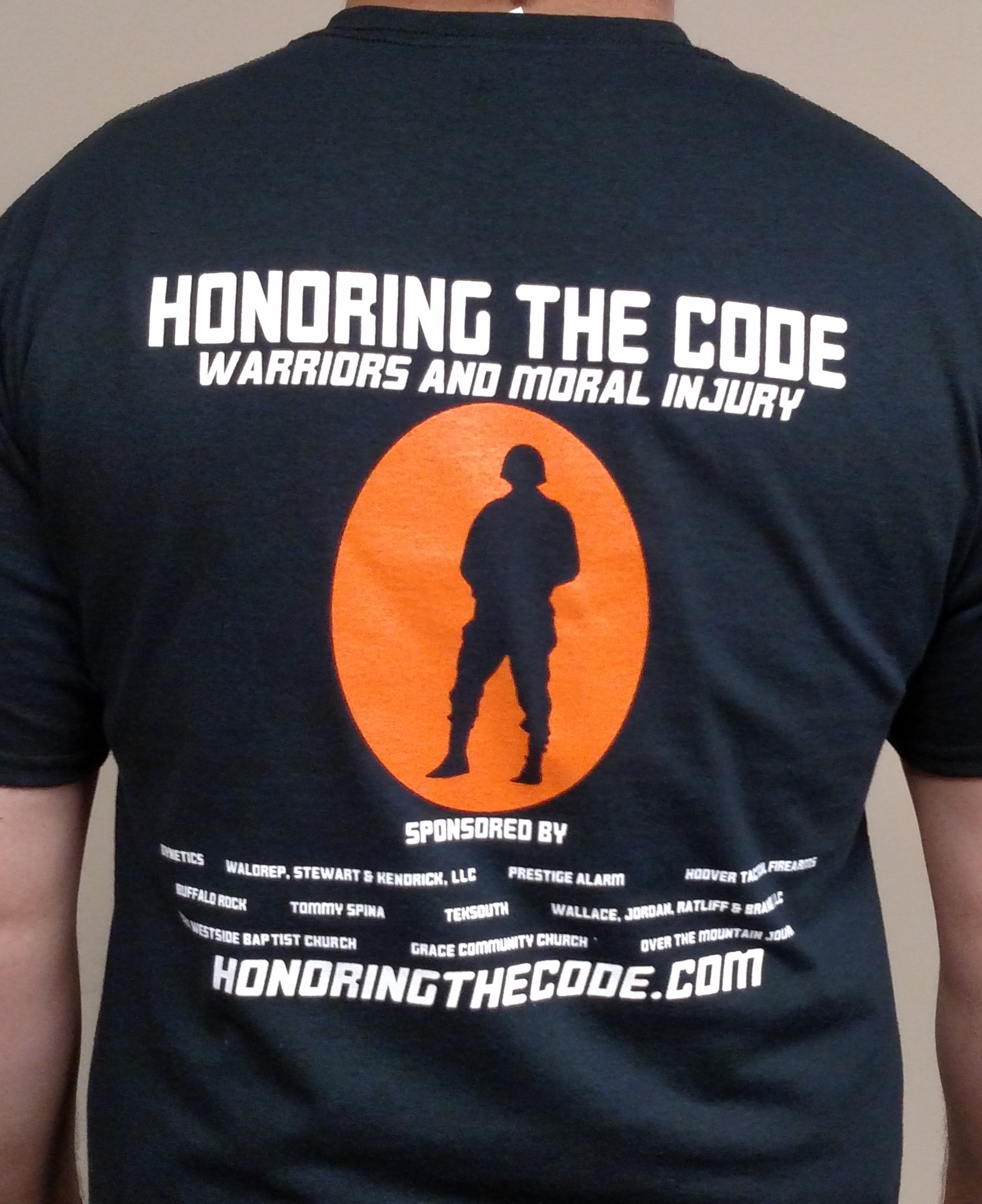 Honoring the Code T-Shirt Now just $12 USD! Includes S&H