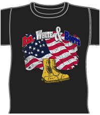 "Red, White & Boots ""Songs of Hope"" T-Shirt"