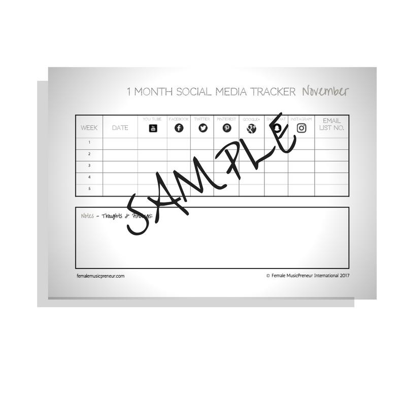 Social Media Tracker (PDF)