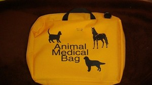 Animal medical bag