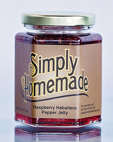 Peach Habanero Pepper Jelly