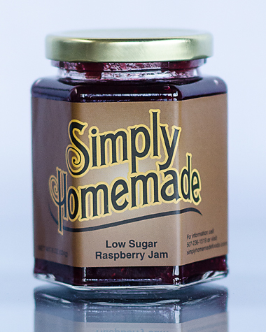 Low Sugar Raspberry Jam