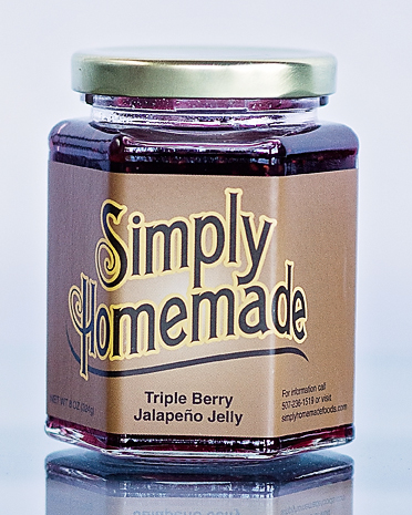 Triple Berry Jalapeno Pepper Jelly