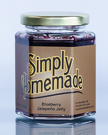 Blueberry Jalapeno Pepper Jelly