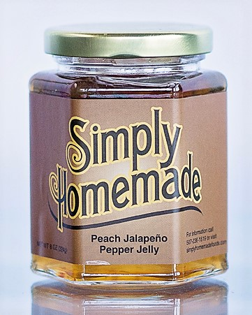 Peach Jalapeno Pepper Jelly