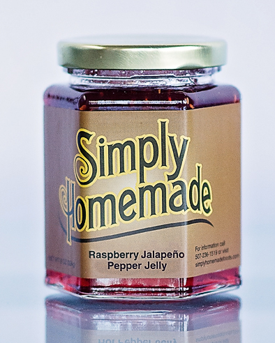 Raspberry Jalapeno Pepper Jelly