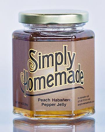 Peach Habanero Pepper Jelly