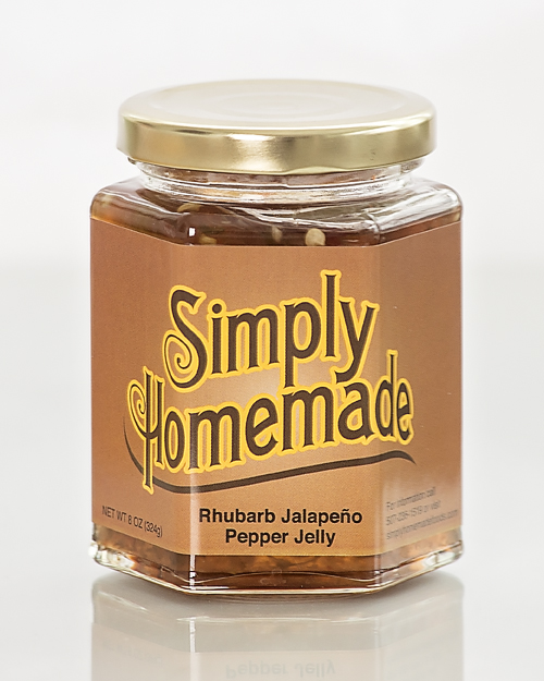 Rhubarb Jalapeno Pepper Jelly
