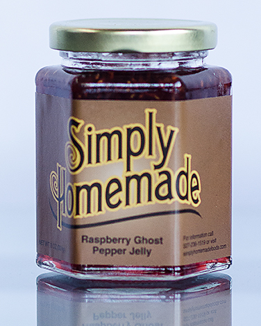 Raspberry Ghost Pepper Jelly