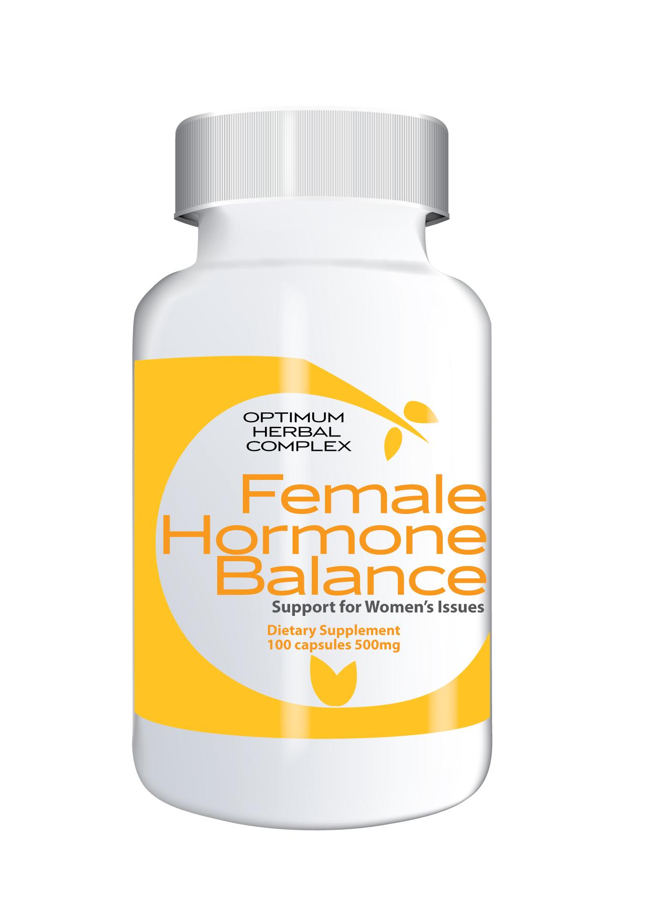 Female Hormone Balance 100 capsulas 500mg